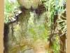 Aquarelle ruisseau à Sabres