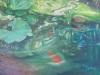 """""""Tetrapanax aux poisson rouge"""", 70x50 cm"""